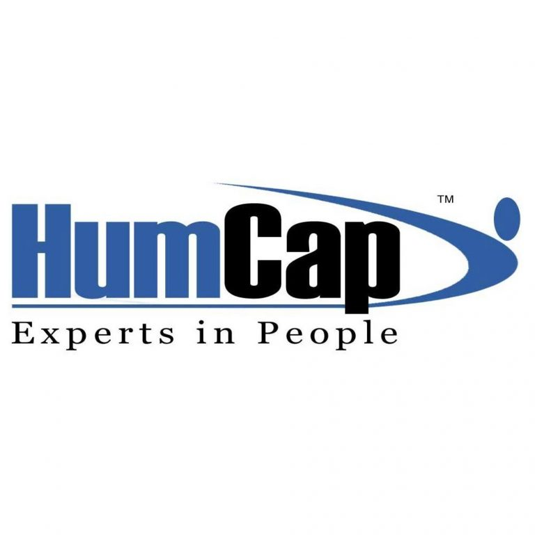 HumCap logo. HumCap. Experts in People